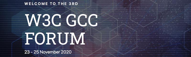 3rd W3C CGG Forum event - Nov 2020