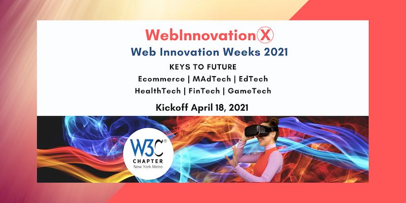 WebInnovationX 2021 event - April21